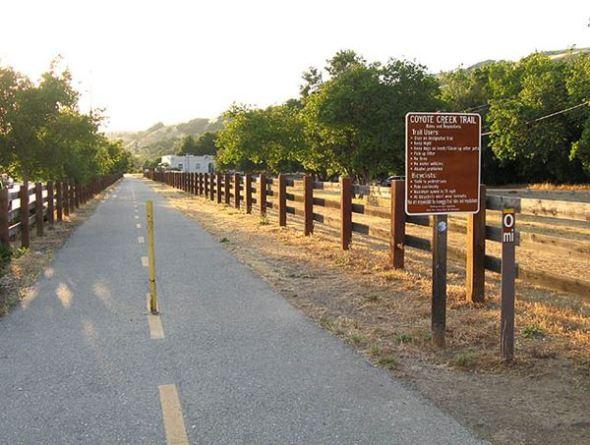 photo from http://www.rhorii.com/bayareaparks/CoyoteCreekTrail/CoyoteCreekTrail.html
