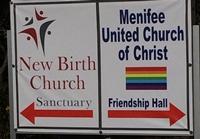 Menifee UCC sign
