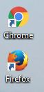 Chrome & Firefox logos