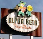 Alpha Beta sign