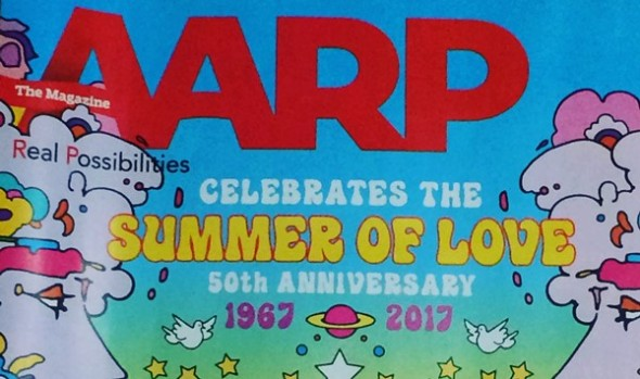 AARP Magazine Summer of Love cover