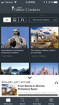 Great Courses for iPhone app