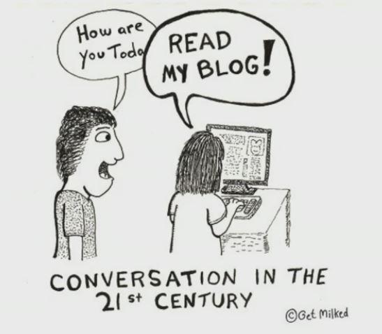 cartoon: Read My Blog