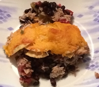 Black Bean and Rice Bake