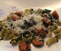 pasta and sausage