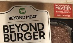 Beyond Meat Burger package
