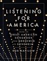 Listening for America cover
