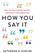 How You Say It cover