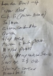 freezer list